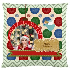 Xmas By Xmas4   Large Cushion Case (two Sides)   P5pfq0hiv2kf   Www Artscow Com Back