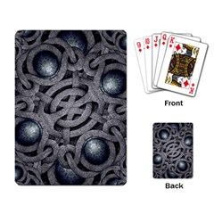 Mystic Arabesque Playing Cards Single Design by dflcprints
