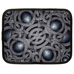Mystic Arabesque Netbook Sleeve (large) by dflcprints