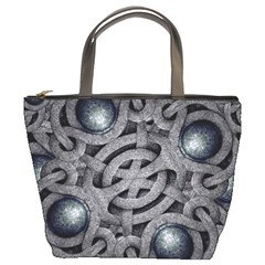 Mystic Arabesque Bucket Handbag by dflcprints