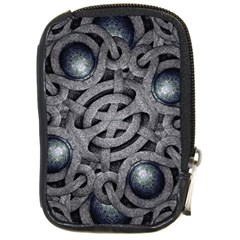 Mystic Arabesque Compact Camera Leather Case by dflcprints