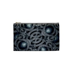 Mystic Arabesque Cosmetic Bag (small) by dflcprints
