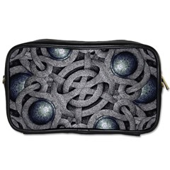 Mystic Arabesque Travel Toiletry Bag (two Sides) by dflcprints