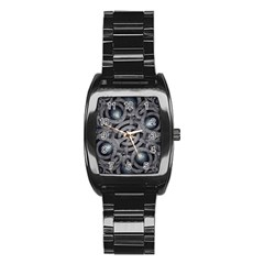 Mystic Arabesque Stainless Steel Barrel Watch by dflcprints