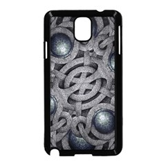 Mystic Arabesque Samsung Galaxy Note 3 Neo Hardshell Case (black) by dflcprints