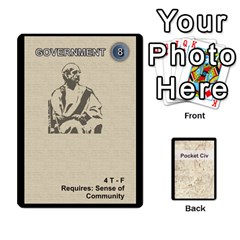 Pocket Civ 2 By Mike Hostetler   Playing Cards 54 Designs   O8whyg1udhcg   Www Artscow Com Front - Heart7
