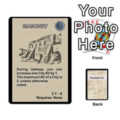 Pocket Civ 2 By Mike Hostetler   Playing Cards 54 Designs   O8whyg1udhcg   Www Artscow Com Front - Diamond2