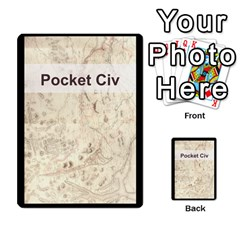 Pocket Civ 2 By Mike Hostetler   Playing Cards 54 Designs   O8whyg1udhcg   Www Artscow Com Back