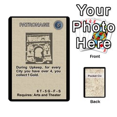 Pocket Civ 2 By Mike Hostetler   Playing Cards 54 Designs   O8whyg1udhcg   Www Artscow Com Front - Spade8