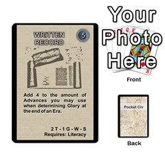 Jack Pocket Civ 2 By Mike Hostetler   Playing Cards 54 Designs   O8whyg1udhcg   Www Artscow Com Front - SpadeJ