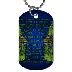 Binary Communication Dog Tag (two Sided)