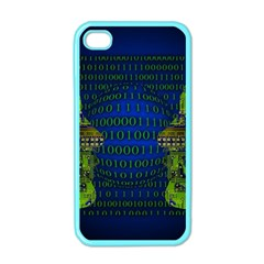 Binary Communication Apple Iphone 4 Case (color)