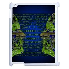 Binary Communication Apple Ipad 2 Case (white)