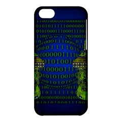 Binary Communication Apple Iphone 5c Hardshell Case