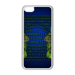 Binary Communication Apple Iphone 5c Seamless Case (white)