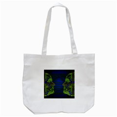 Binary Communication Tote Bag (white) by StuffOrSomething