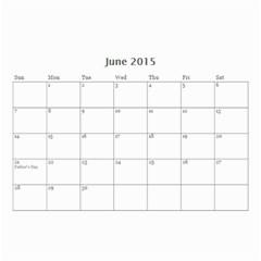 Mad By Roberta   Wall Calendar 8 5  X 6    Orccws39eit1   Www Artscow Com Jun 2015