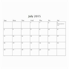 Mad By Roberta   Wall Calendar 8 5  X 6    Orccws39eit1   Www Artscow Com Jul 2015