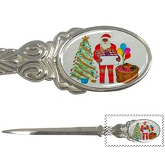 Sagittal Father Chrismas, Letter Opener by creationtruth