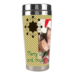 Xmas By Xmas   Stainless Steel Travel Tumbler   9vf9w9baxa47   Www Artscow Com Left