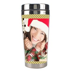 Xmas By Xmas   Stainless Steel Travel Tumbler   9vf9w9baxa47   Www Artscow Com Center