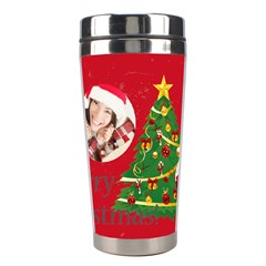 Xmas By Xmas   Stainless Steel Travel Tumbler   5a9xecl4wxnk   Www Artscow Com Center