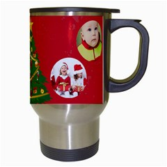 Xmas By Xmas   Travel Mug (white)   5vjwq93e1xwt   Www Artscow Com Right