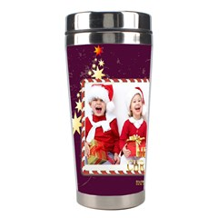 Xmas By Xmas   Stainless Steel Travel Tumbler   Qyeo1uabrr7h   Www Artscow Com Left