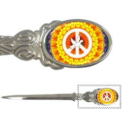Psychedelic Peace Dove Mandala Letter Opener by StuffOrSomething