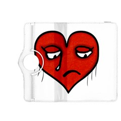 Sad Heart Kindle Fire Hdx 8 9  Flip 360 Case by dflcprints