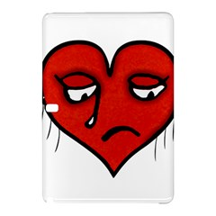 Sad Heart Samsung Galaxy Tab Pro 10 1 Hardshell Case by dflcprints