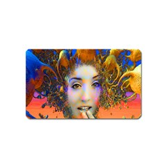 Organic Medusa Magnet (name Card) by icarusismartdesigns