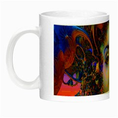 Organic Medusa Glow In The Dark Mug by icarusismartdesigns