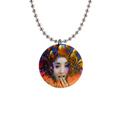 Organic Medusa Button Necklace by icarusismartdesigns