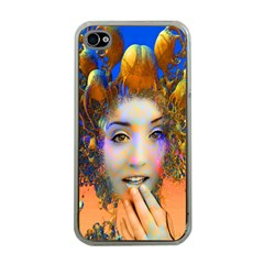 Organic Medusa Apple Iphone 4 Case (clear) by icarusismartdesigns