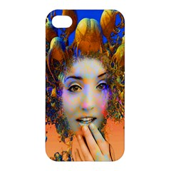 Organic Medusa Apple Iphone 4/4s Premium Hardshell Case by icarusismartdesigns