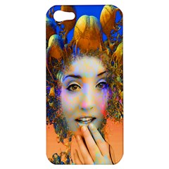 Organic Medusa Apple Iphone 5 Hardshell Case by icarusismartdesigns