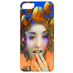 Organic Medusa Apple Iphone 5 Classic Hardshell Case by icarusismartdesigns