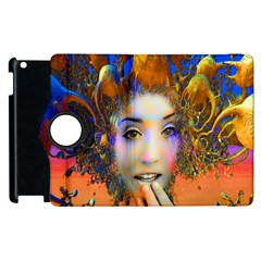 Organic Medusa Apple Ipad 3/4 Flip 360 Case by icarusismartdesigns