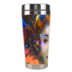 Organic Medusa Stainless Steel Travel Tumbler by icarusismartdesigns