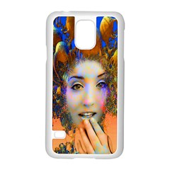 Organic Medusa Samsung Galaxy S5 Case (white) by icarusismartdesigns
