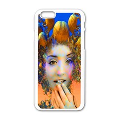 Organic Medusa Apple Iphone 6 White Enamel Case by icarusismartdesigns