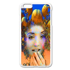 Organic Medusa Apple Iphone 6 Plus Enamel White Case