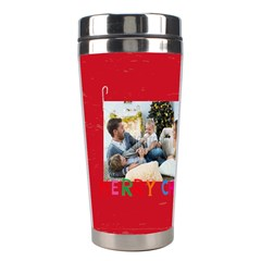 Xmas By Xmas   Stainless Steel Travel Tumbler   7xurgw4692xh   Www Artscow Com Left