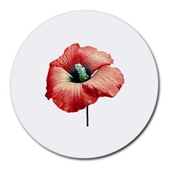 Your Flower Perfume 8  Mouse Pad (round) by dflcprints