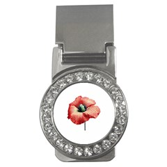Your Flower Perfume Money Clip (cz) by dflcprints