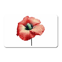 Your Flower Perfume Magnet (rectangular) by dflcprints