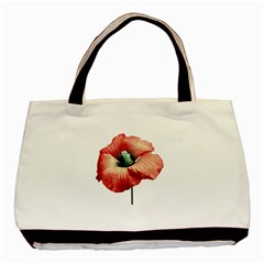 Your Flower Perfume Twin Sided Black Tote Bag by dflcprints