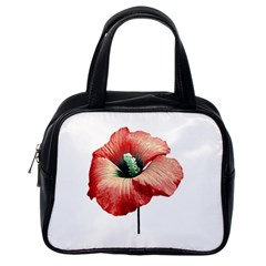 Your Flower Perfume Classic Handbag (one Side) by dflcprints