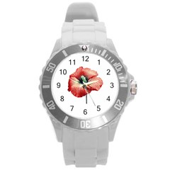 Your Flower Perfume Plastic Sport Watch (large) by dflcprints